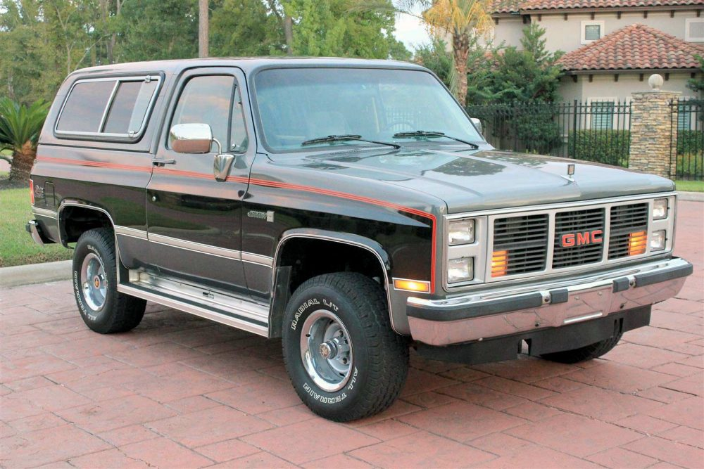 1987 Gmc V1500 Jimmy 4x4
