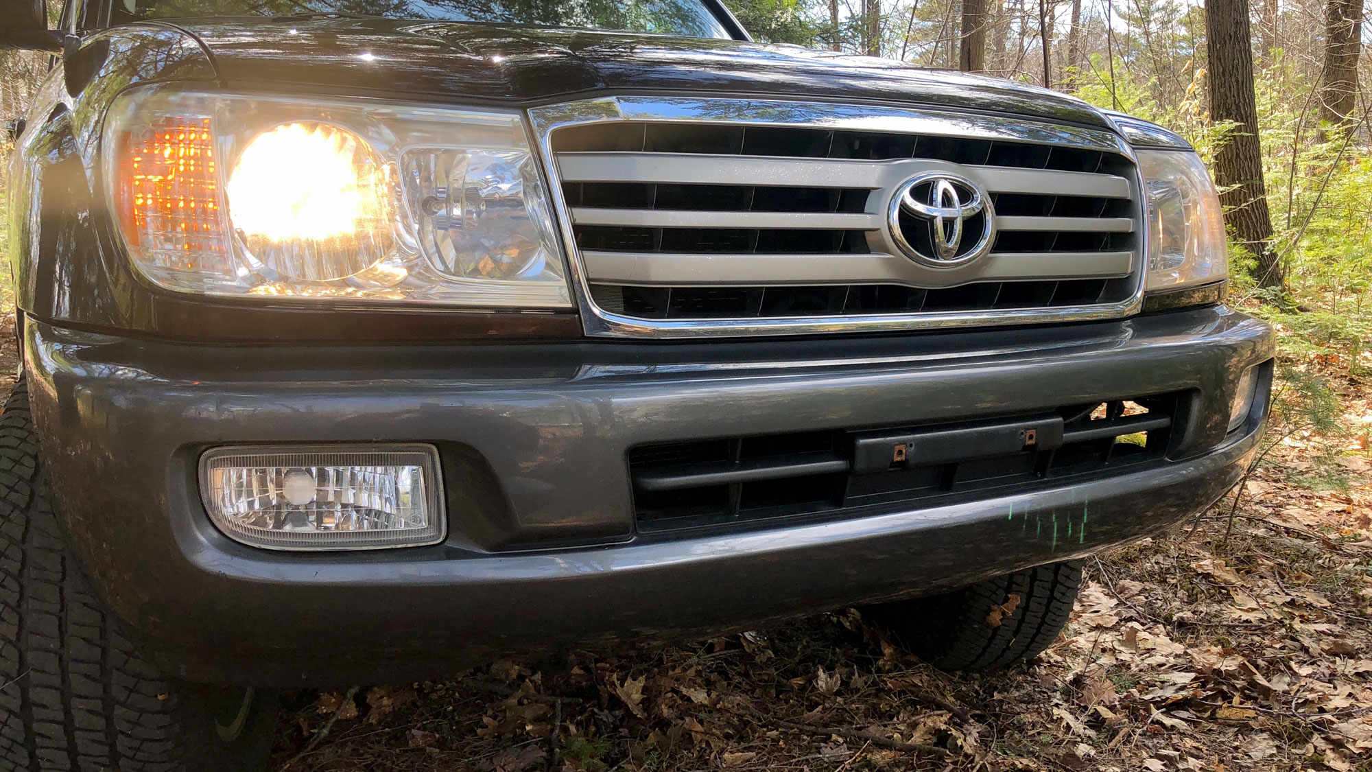 2007 Toyota Land Cruiser 100 Series Uzj100 Sold Nicanorth This A Very Nice Well Maintained Two Owner It Has Toyotas Factory Undercoating Which Preserved The Frame